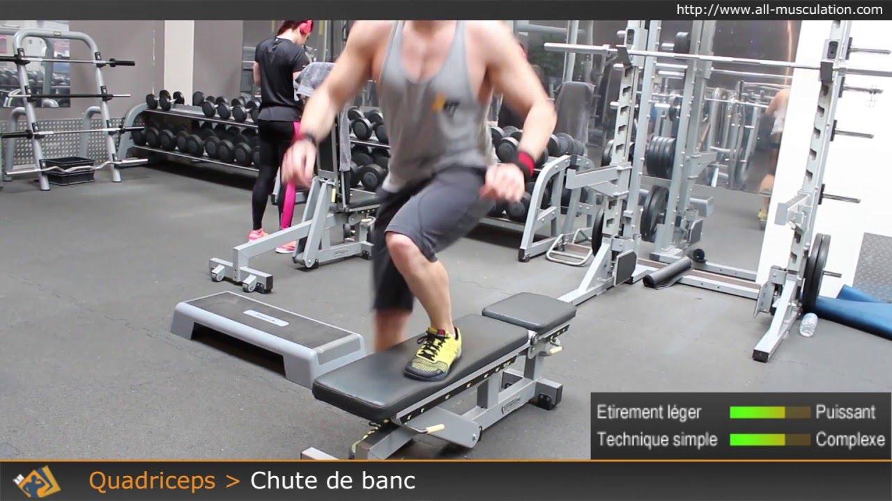 banc de musculation pour quadriceps