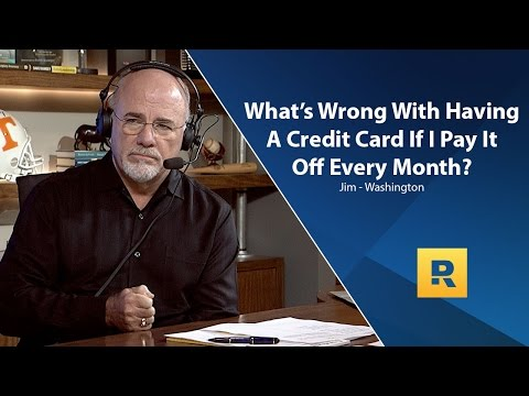 Whats Wrong With Credit Card If Pay It Off Every Month