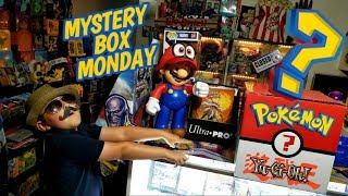 VINTAGE POKEMON BOOSTER PACKS, NEW LOST THUNDER CARDS, & YUGIOH CARDS!? MYSTERY BOX MONDAY IS BACK!