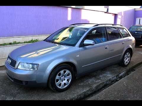 Audi A4 B6 Avant 1.9 TDI 130hp 2003 Reviews HD