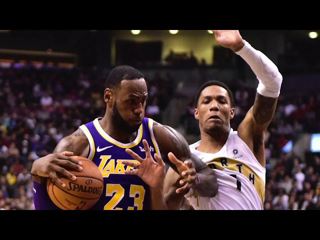 08f9bf7156e LeBron James is just a one-day circus for Toronto now