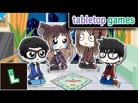 Board Games   Gacha Life Skit