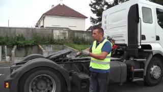 Attelage: Vérifications du tracteur.