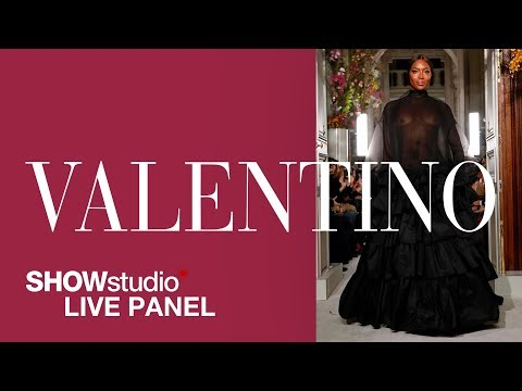 Valentino – Spring / Summer 2019 Couture Panel Discussion