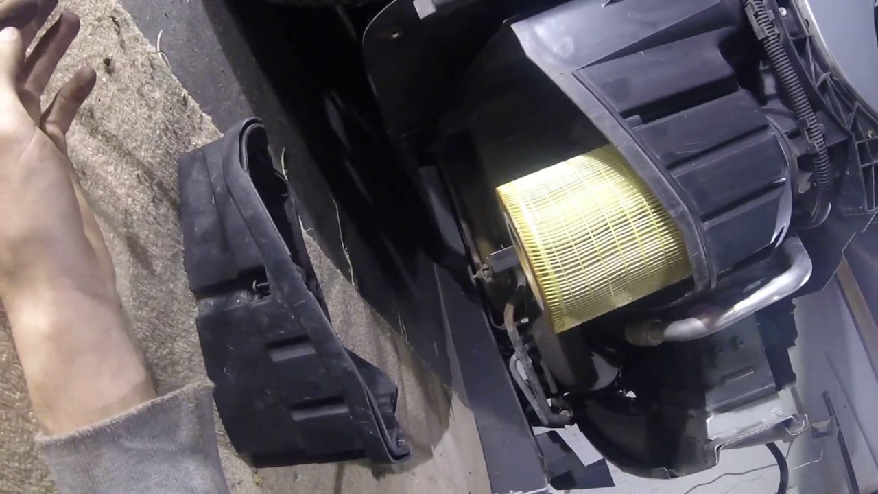 How To Change The Air Filter On Saab 9 5 Facelift 19 TID Z19DTH