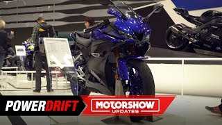 2019 Yamaha YZF-R125 - the stepping stone : Intermot 2018 : PowerDrift