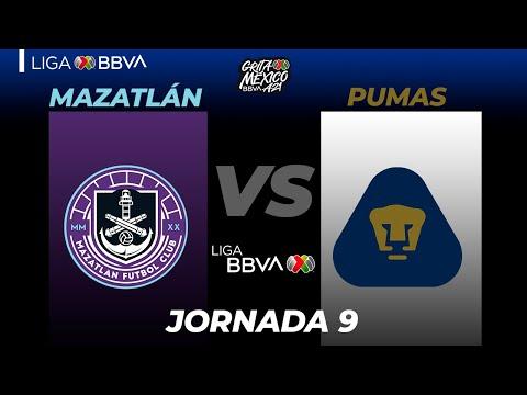 Mazatlan FC U.N.A.M. Pumas Goals And Highlights