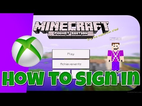 How to sign into Xbox Live (Minecraft PE 0.15.2)