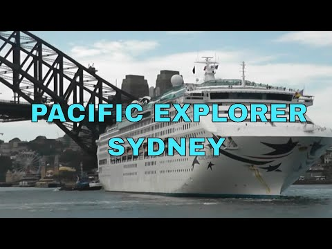 'PACIFIC EXPLORER' AND 'REGATTA' DEPART SYDNEY, AUSTRALIA
