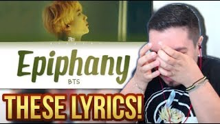 BTS Jin Epiphany Lyrics Reaction