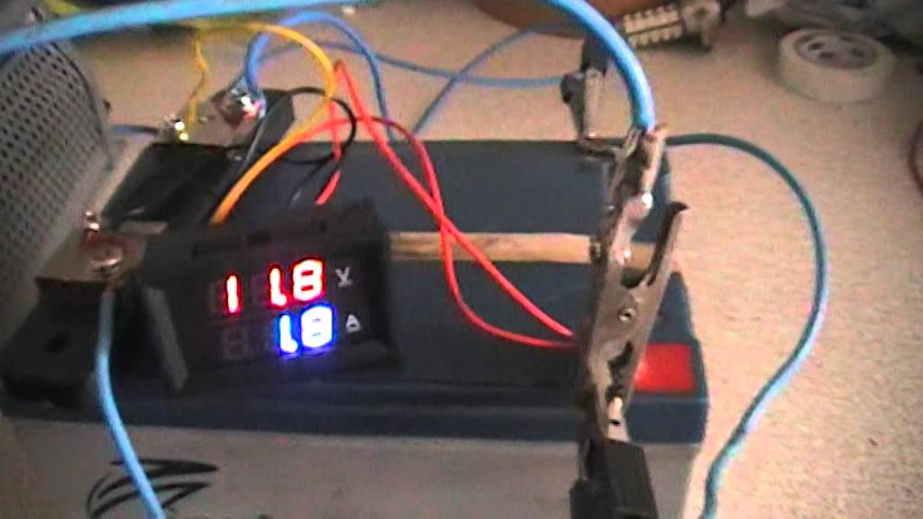 Hooking Up Voltmeter And Devices : Dual voltmeter ammeter from ebay youtube