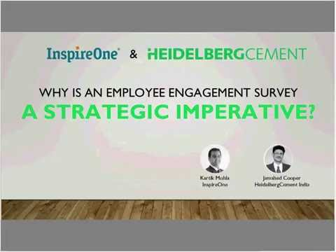 InspireOne's Webinar : Why is an employee engagement survey a strategic initiative?