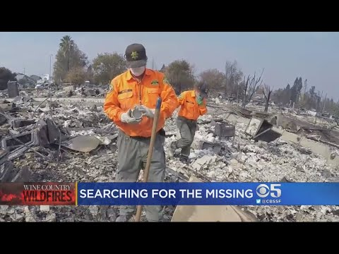 Crews Sift Through Ashes In Search Of Missing People
