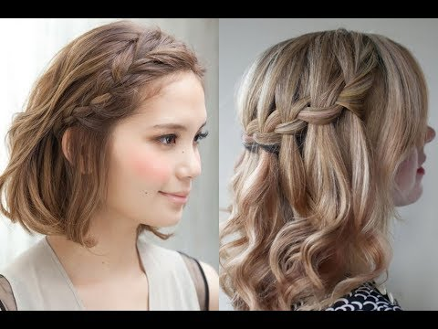 Braid Hairstyles For Short Hair For School Girls New Hairstyles 2018