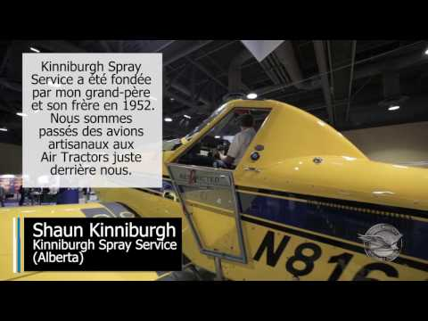 Exploitant d'aviation agricole: Kinniburgh Spray Service