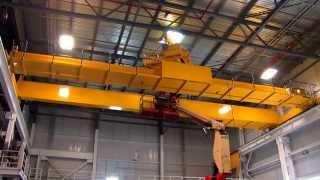 40 ton Overhead Crane Fast motion Installation & Test