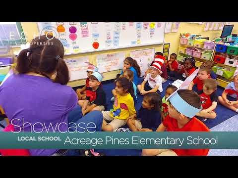 Echo Fine Properties Showcase: Acreage Pines Elementary School