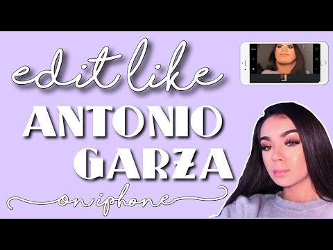 HOW TO EDIT LIKE ANTONIO GARZA ON IPHONE (FACE DISTORTIONS, CHANNEL ART, AUDIOS, FONTS)