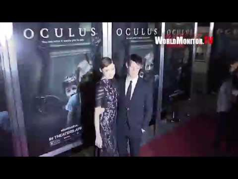 Karen Gillan, Matt Smith Reunite at 'Oculus' Los Angeles Film Premiere Redcarpet