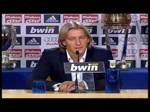 "Real Madrid Michel Salgado:""Real Madrid gave me everything"" / ""El Real Madrid me lo ha dado todo"""