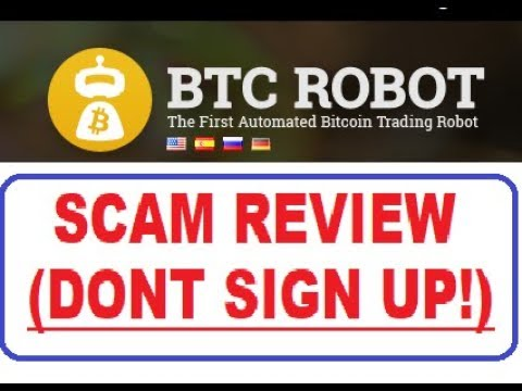 BTC Robot- DON'T SIGN UP, WATCH THIS FIRST!