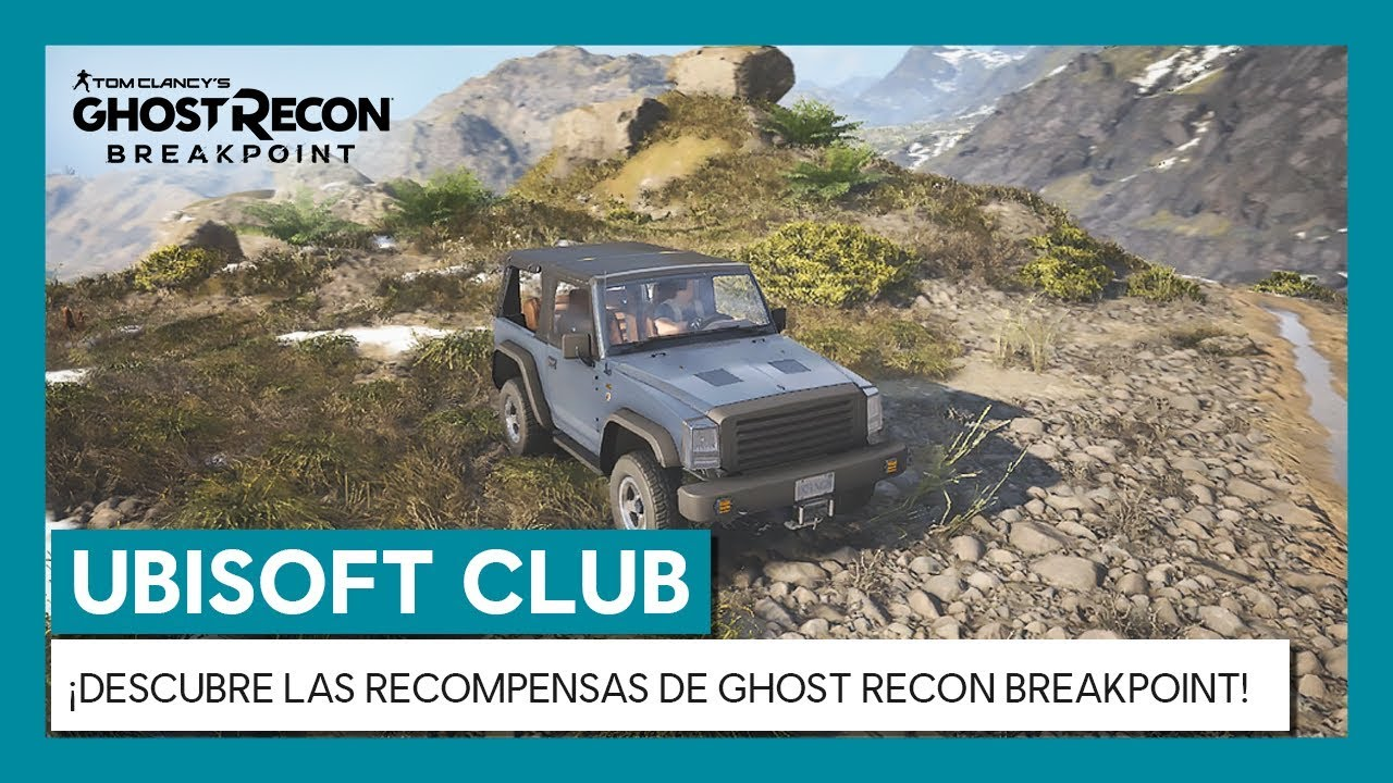 UBISOFT CLUB: ¡DESCUBRE LAS RECOMPENSAS DE GHOST RECON BREAKPOINT!