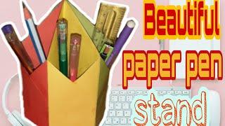 Download Video Nice pen stand  কাগজের কলম দানি   Android bangla tips MP3 3GP MP4