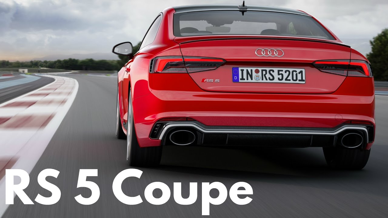 2017 Audi Rs 5 Coupe 0 100 Km H Acceleration 450 Hp Engine Exhaust Sound