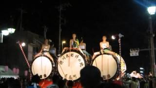 20150815 尾島ねぷた祭り⑧ 徳川氏発祥の地のねぷた太鼓