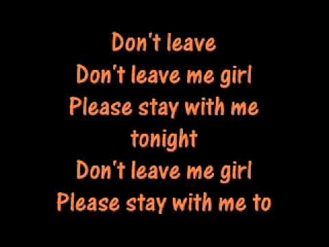 Blackstreet - Don`t Leave me (Lyrical) - YouTube