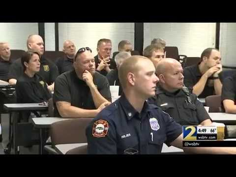 WSB News Spot - Sandy Springs Emergency Responders Receive Autism Training