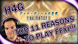 Top 11 Reasons to Come Back! - Final Fantasy XI in 2016 - (1080p 30fps)
