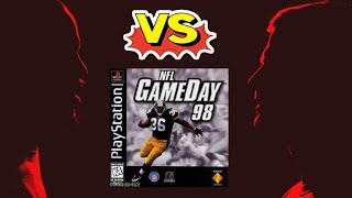 NFL Gameday 98 - Playstation (PS1) - Retro Sports League - Tom vs Uncle Jimmy
