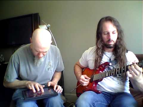 Rudess and Petrucci Hourglass ala MorphWiz and Guitar