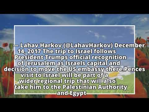 US Vice President Mike Pence delays Israel visit