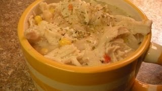 White  Cheese Chicken Chili