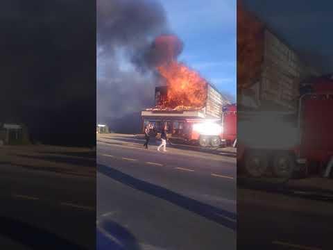 Пожар в городе Шацк