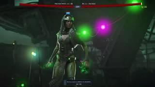 Injustice 2 Enchantress vs Batman Gameplay!!!