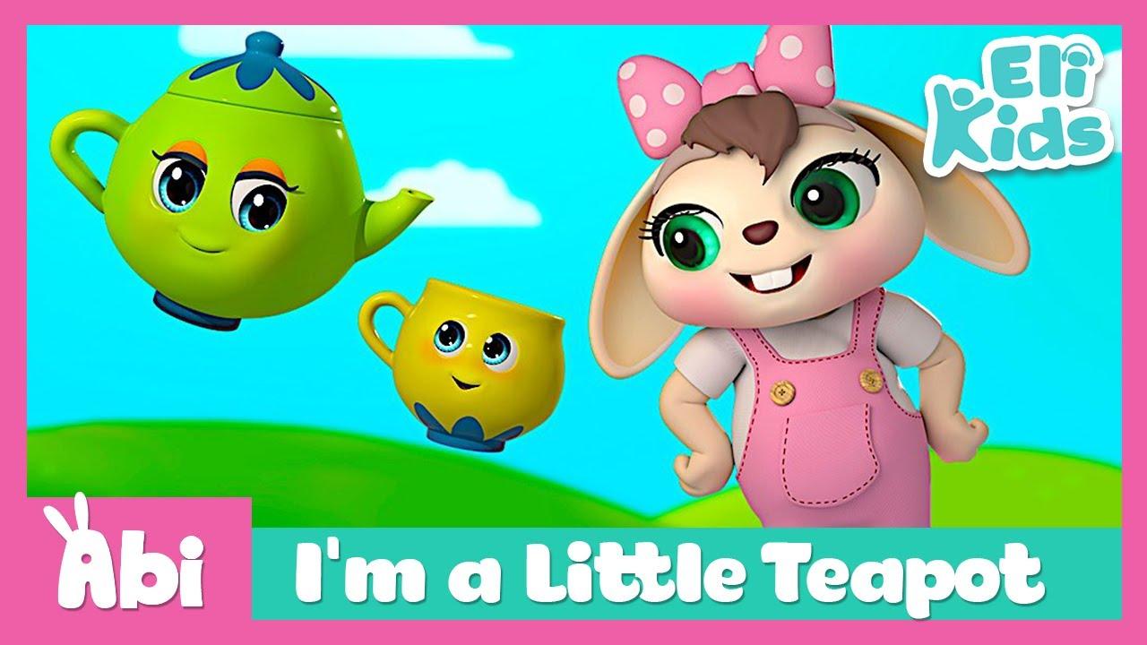 I'm a Little Teapot | Eli Kids Songs & Nursery Rhymes