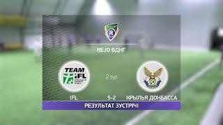 Обзор матча IFL 5 2 Крылья Донбасса Турнир по мини футболу в Киеве