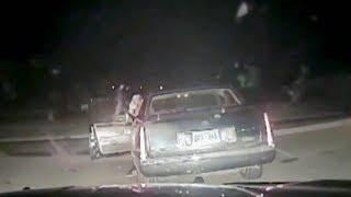 Police Dashcam Captures Oklahoma Highway Patrol Shootout