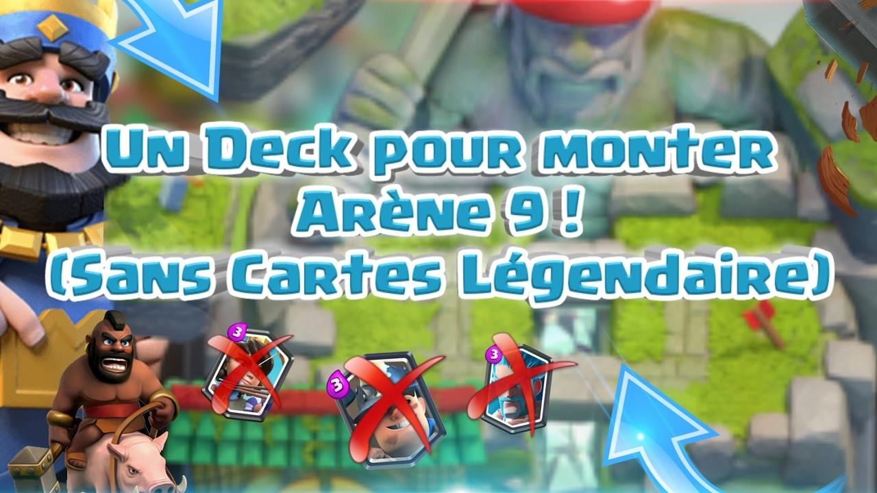 Le meilleur deck pour monter arene 8 et 9 youtube for Meilleur deck arene 4