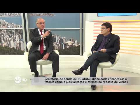 Saúde em Santa Catarina  SBT Meio-Dia 2908