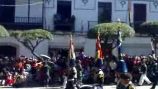 BANDA DEL CALERO - SUCRE 24 de Mayo desfile Bicentenario 2009 (part 2)