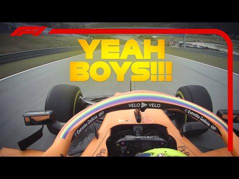 Lando Norris&39; Final Laps  2020 Styrian Grand Prix