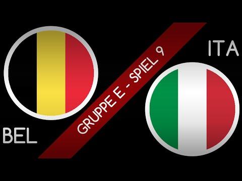 Prognose Belgien Italien
