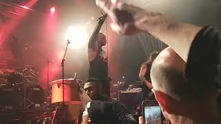 Sepultura performing Arise at Metro Theatre in Sydney on 19.05.2018.
