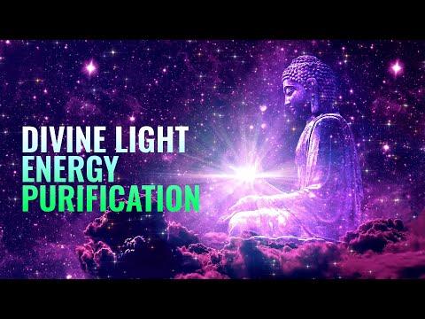 Divine Light Energy Purification   999 Hz Divine Protection   Healing energy, Binaural Beats