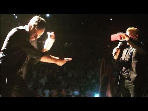 Jimmy Fallon Slays Impression of Bono at NYC Concert