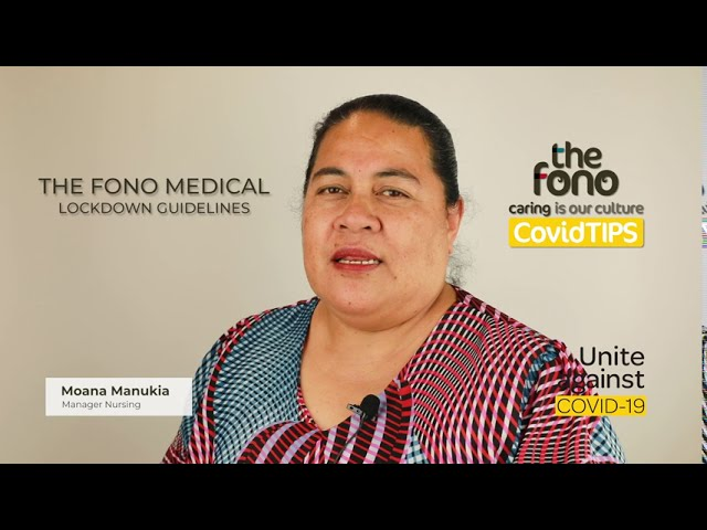 CovidTIPS - Tip#13 | Medical Clinic Appointment Guidelines | Tongan Language